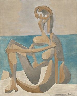 Pablo Picasso, Seated Bather, 1930, Museum of Modern Art, New York © 2018 Estate of Pablo Picasso/Artists Rights Society (ARS), New York