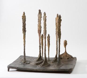 Alberto Giacometti, La Forêt, 1950, Fondation Giacometti, Paris © Succession Alberto Giacometti/ADAGP, Paris 2019