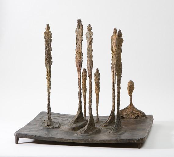 Alberto Giacometti, La Forêt, 1950, Fondation Giacometti, Paris © Succession Alberto Giacometti/ADAGP, Paris 2018