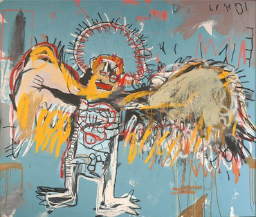 Jean-Michel Basquiat, Fallen Angel, 1981, Fondation Carmignac, Paris © The Estate of Jean-Michel Basquiat/ADAGP, Paris 2018