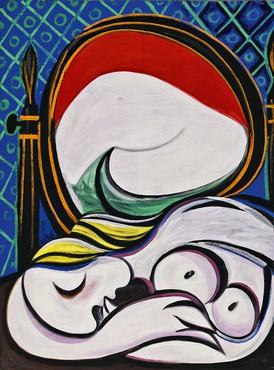 Pablo Picasso, Le Miroir, 1932 © Succession Picasso/DACS London, 2018