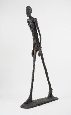 Alberto Giacometti, Homme qui marche I, 1960 © Succession Alberto Giacometti/VEGAP, Bilbao, 2018