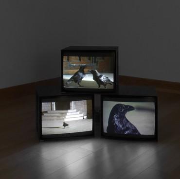 Douglas Gordon, Looking down with his black, black, ee, 2008 © Studio lost but found/VG Bild-Kunst, Bonn 2018