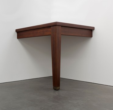 Robert Therrien, No title (table leg), 2010 © Robert Therrien/Artists Rights Society (ARS), New York. Photo: Peter Cox