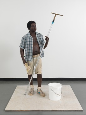 Duane Hanson, Window Washer, 1984 © Estate of Duane Hanson/Licensed by VAGA, New York