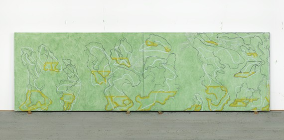 Brice Marden, Untitled (Hydra), 2018 © 2018 Brice Marden/Artists Rights Society (ARS), New York. Photo: Bill Jacobson