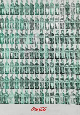 Andy Warhol, Green Coca-Cola Bottles, 1962, Whitney Museum of American Art, New York © The Andy Warhol Foundation for the Visual Arts, Inc./Artists Rights Society (ARS), New York