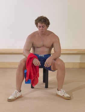 Duane Hanson, Bodybuilder, 1990 © 2019 Estate of Duane Hanson/Licensed by VAGA at Artists Rights Society (ARS), New York