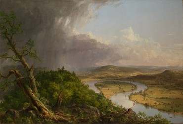 Thomas Cole, View from Mount Holyoke, Northampton, Massachusetts, after a Thunderstorm—The Oxbow, 1836, Metropolitan Museum of Art, New York. Photo © The Metropolitan Museum of Art, New York