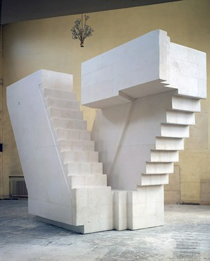 Rachel Whiteread, Untitled (Stairs), 2001 © Rachel Whiteread