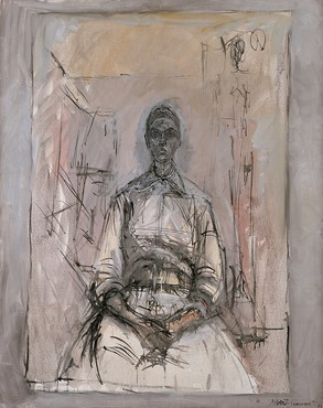 Alberto Giacometti, Aïka, 1959, Fondation Beyeler © Succession Alberto Giacometti (Fondation Alberto et Annette Giacometti, Paris + ADAGP, Paris) 2017