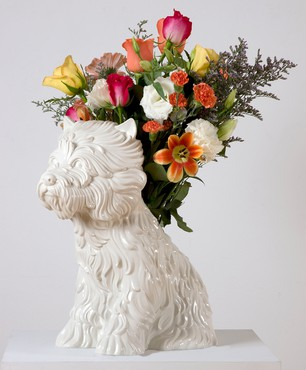 Jeff Koons, Puppy (Vase), 1998 © Jeff Koons