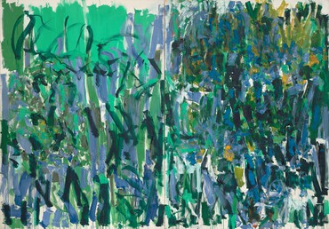 Joan Mitchell, No Rain, 1976, Museum of Modern Art, New York © Estate of Joan Mitchell