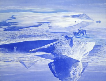 Mark Tansey, Push/Pull, 2003