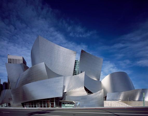 Frank Gehry'sWalt Disney Concert Hall, Los Angeles. Photo by Carol M. Highsmith