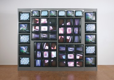 Nam June Paik, Internet Dream, 1994 © Nam June Paik Estate. Photo: Steffan Harms