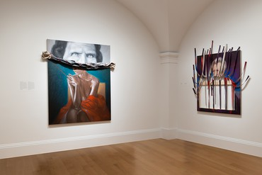 Installation view, UnSeen: Our Past in a New Light, Ken Gonzales-Day and Titus Kaphar, National Portrait Gallery, Washington, DC, May 31, 2018–January 6, 2019. Artwork © Titus Kaphar