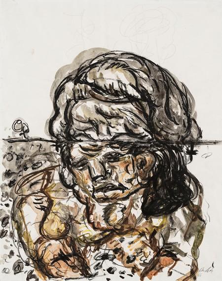 Georg Baselitz, Untitled, 1966 © Georg Baselitz 2018
