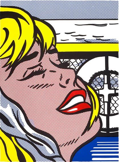 Roy Lichtenstein, Shipboard Girl, 1965 © Estate of Roy Lichtenstein