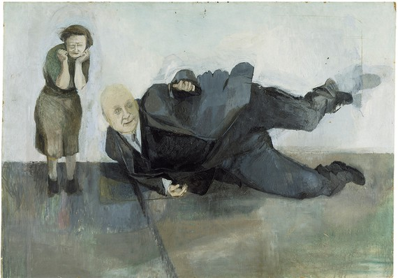 Michael Andrews, A Man Who Suddenly Fell Over, 1952, Tate © The Estate of Michael Andrews