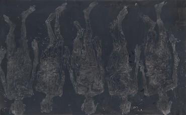 Georg Baselitz, 5 mal endwärts, 2018 © Georg Baselitz 2019
