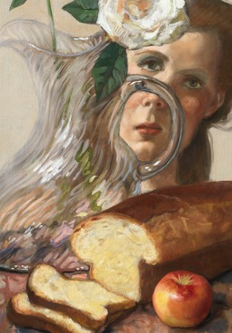 John Currin, Untitled, 2018 (detail) © John Currin