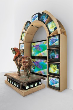 Nam June Paik, Lion, 2005 © Nam June Paik Estate