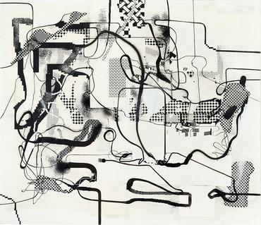Albert Oehlen, Untitled, 1992/2008 © Albert Oehlen. Photo by Simon Vogel