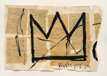 Jean-Michel Basquiat, Untitled (Crown), 1983 © Estate of Jean-Michel Basquiat, all rights reserved. Licensed by Artestar, New York. Photo by Mark Woods