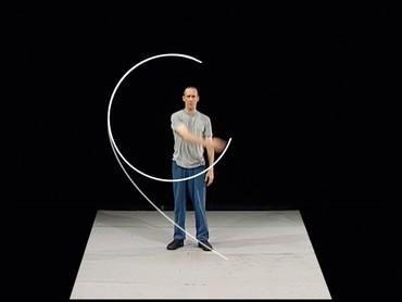 William Forsythe, Lectures from Improvisation Technologies, 2011, performed by William Forsythe © William Forsythe