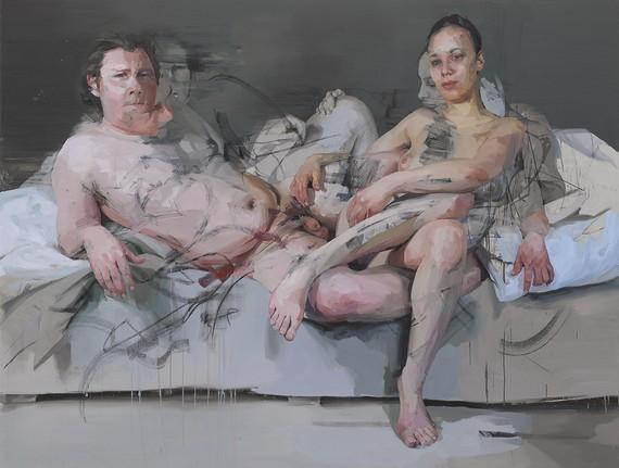 Jenny Saville, Intertwine, 2011–14 © Jenny Saville