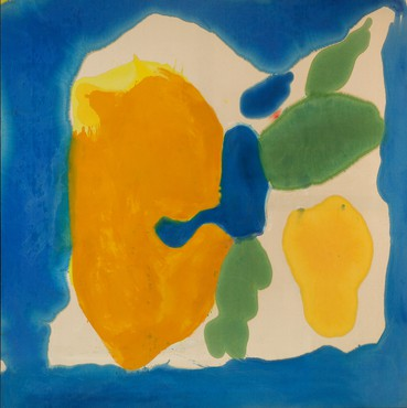 Helen Frankenthaler, Provincetown Window, 1963–64 © 2018 Helen Frankenthaler Foundation, Inc./Artists Rights Society (ARS), New York. Photo: Tim Pyle, Light Blue Studio, courtesy Helen Frankenthaler Foundation