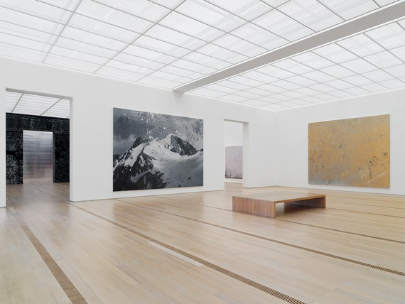 Installation view, Rudolf Stingel, Fondation Beyeler, Riehen/Basel, May 26–October 6, 2019 © Rudolf Stingel. Photo: Stefan Altenburger