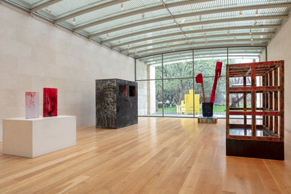Installation view, Sterling Ruby: Sculpture, Nasher Sculpture Center, Dallas, February 2–April 21, 2019. Artwork © Sterling Ruby. Photo: Kevin Todora