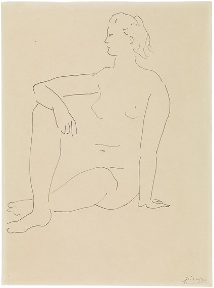 Pablo Picasso, Femme assise, c. 1923, Courtauld Gallery, London © Succession Picasso 2019