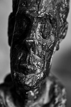Peter Lindbergh, Alberto Giacometti, Buste de Diego d'après nature,Paris, 2017, 2017 © Peter Lindbergh and © Succession Alberto Giacometti (Fondation Giacometti + ADAGP) Paris 2018