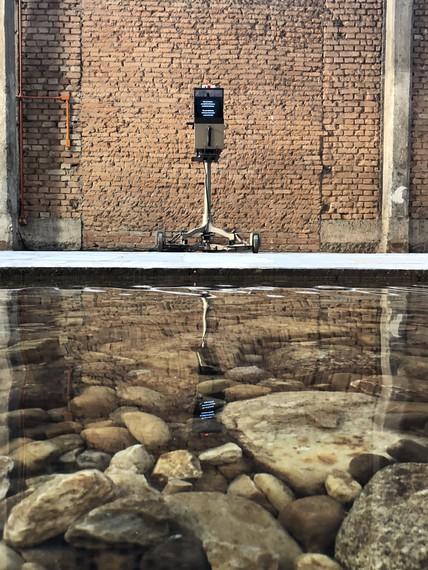 Installation view, William Forsythe: Objetos coreográficos, SESC Pompéia, São Paulo, March 27–July 28, 2019 © William Forsythe. Photo: Jackson Matos