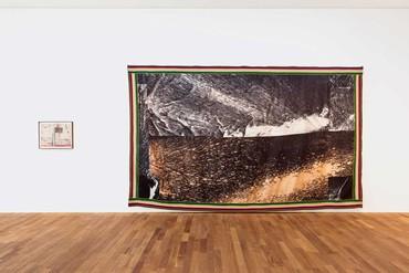 Installation view, Reflections: Matt Black × Gana Art, Gana Art Center and Gana Art Hannam, Seoul, November 1, 2019–January 5, 2020. Artwork © Sterling Ruby