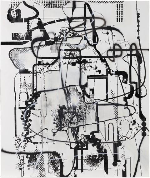 Albert Oehlen, Untitled, 1992–2005, Collection Fondation Louis Vuitton, Paris © Albert Oehlen. Photo © Primae/David Bordes