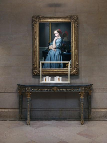 Installation view, Elective Affinities: Edmund de Waal at the Frick Collection, Frick Collection, New York, May 30–November 17, 2019. Artwork © Edmund de Waal. Photo: Christopher Burke