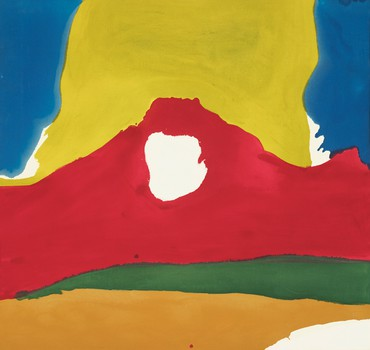 Helen Frankenthaler, Floe IV, 1965, Museum of Fine Arts, Boston © 2021 Helen Frankenthaler Foundation, Inc./Artists Rights Society (ARS), New York. Photo: Museum of Fine Arts, Boston
