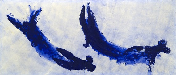 Yves Klein, Anthropométrie (ANT 84), 1960 © Succession Yves Klein/ADAGP, Paris 2019. Photo: Muriel Anssens/Ville de Nice
