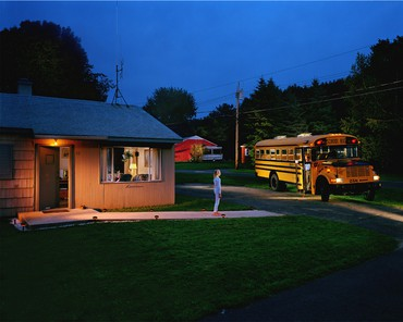 Gregory Crewdson, Untitled (beckoning bus driver), 2001–02, Whitney Museum of American Art, New York © Gregory Crewdson