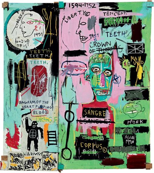 Jean-Michel Basquiat, In Italian, 1983 © Estate of Jean-Michel Basquiat/Licensed by Artestar, New York. Photo: courtesy the Brant Foundation, Greenwich, Connecticut
