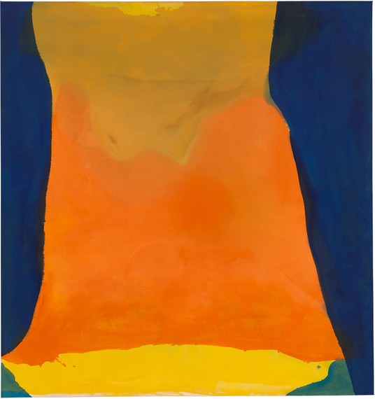 Helen Frankenthaler, Orange Mood, 1966 © 2019 Helen Frankenthaler Foundation, Inc./Artists Rights Society (ARS), New York