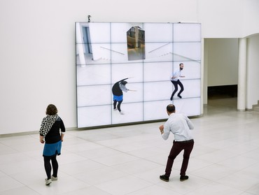 William Forsythe, City of Abstracts, 2000 © William Forsythe. Photo: Dominik Mentzos