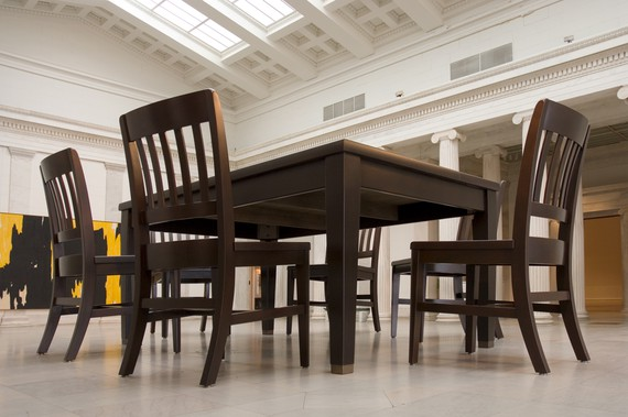 Robert Therrien, No title (table and six chairs), 2003 © Robert Therrien/Artists Rights Society (ARS), New York