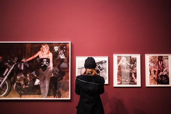 Installation view, Feelings: Kunst und Emotion, Pinakothek der Moderne, Munich, November 7, 2019–October 4, 2020. Artwork © Richard Prince