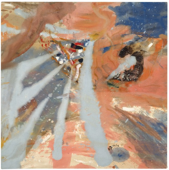 Helen Frankenthaler, Mount Sinai, 1956, Neuberger Museum of Art, Purchase College, State University of New York © 2019 Helen Frankenthaler Foundation, Inc./Artists Rights Society (ARS), New York