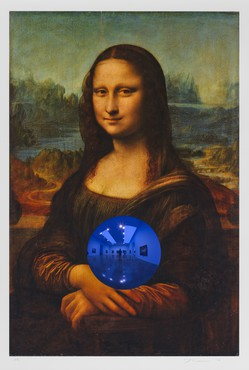 Jeff Koons, Gazing Ball (da Vinci Mona Lisa), 2016, Jordan Schnitzer Family Foundation © Jeff Koons
